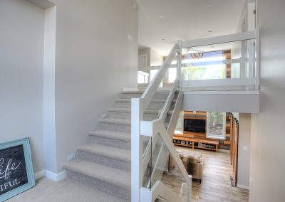 Sterling stairs | Luxury Home Park Boulevard Winnipeg, Manitoba, Canada. Custom Home. Emmett Leo Homes Luxury Home Builder Serving Winnipeg, Manitoba, Canada. We want to build you the perfect custom home, where memories can be built.